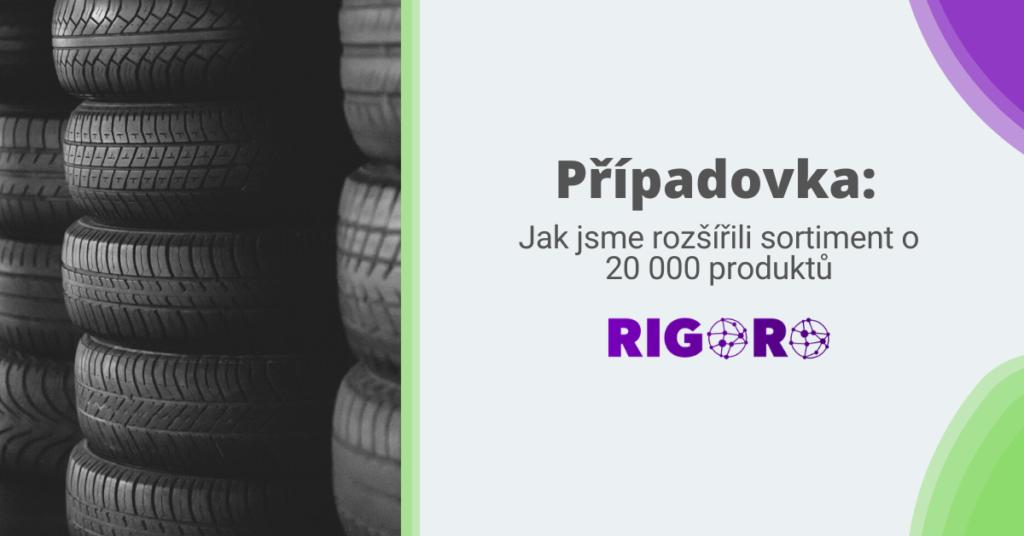Případovka: Napojení německého dodavatele na český e-shop s pneumatikami a rozšíření sortimentu o 25 %